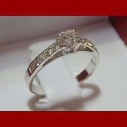Solitaire Diamant 0.49 cts
