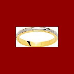 alliance guillochée 2.5mm