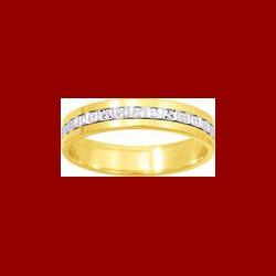 Alliance diamantée 4.5 mm
