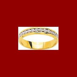 Alliance diamantée 4mm