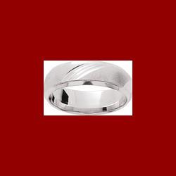 Alliance ciselée chanfrein 6 mm