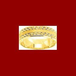 alliance diamantée 6mm