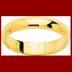 Alliance demi-jonc chanfrein 4 mm