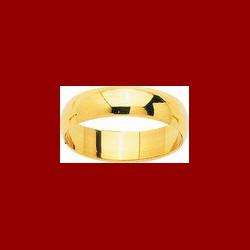 Alliance demi-jonc 5mm