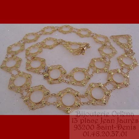 ceinture,orientale,napoléon,18 carats,Orlena,pièce,mesquia 44960c1f07f