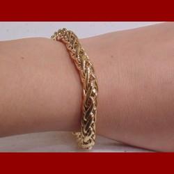 Bracelet Palmier Or 18 carats