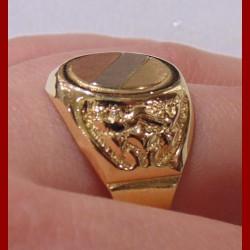 Chevalière 3 Ors 18 carats