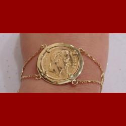 Bracelet napoléon 20frs