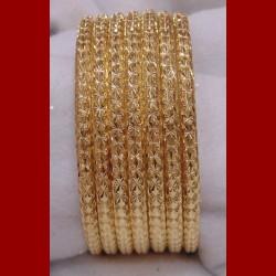 A l'unité Bracelet ciselée or jaune