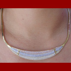Parure 3 ors pavage or 18 carats