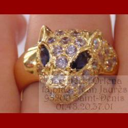 Bague Panthère or 18 carats