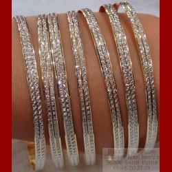 A l'unité Bracelet ciselée 2 ors 18 carats