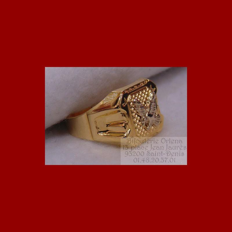 chevali re aigle or 18 carats bijouterie orlena. Black Bedroom Furniture Sets. Home Design Ideas