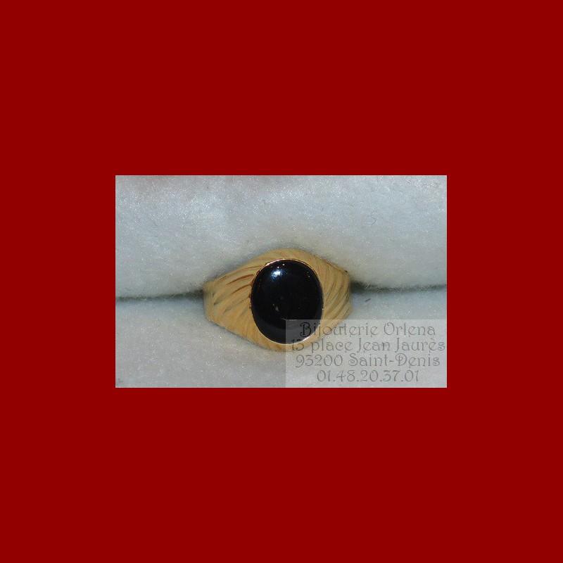 chevali re onyx torsade or 18 carats bijouterie orlena. Black Bedroom Furniture Sets. Home Design Ideas