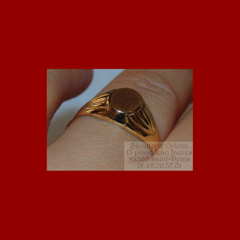 chevali re ovale or 18 carats bijouterie orlena. Black Bedroom Furniture Sets. Home Design Ideas
