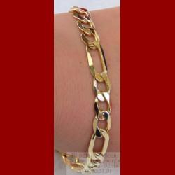 Bracelet massif alterné