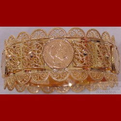 Bracelet oriental napoléon 20 francs