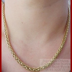 Collier Palmier Or 18 carats