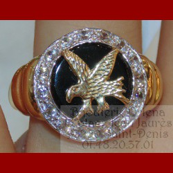 Bague Aigle Royale Or 18 carats