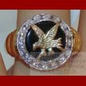 Bague Aigle Royale Or 18 carats