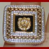 Bague Carré Lion Or 18 carats