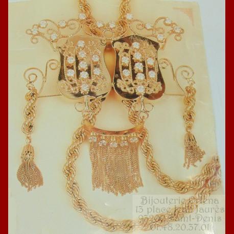 Cravache Boulahya Or 18 carats