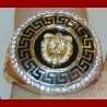 Bague Lion grec Or 18 carats