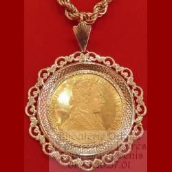 Pendentif Porte pièces 4 ducats