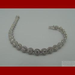 Bracelet Rivière de Diamants 5,92 Carats