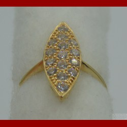 Bague Marquise Or 18 Carats