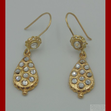 Boucle d'Oreille Zerouf Or 18 Carats