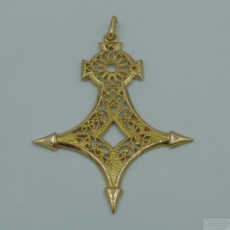 Pendentif Croix du Sahara Or 18 Carats