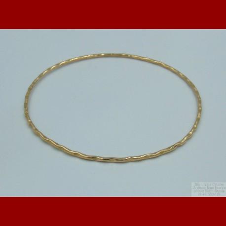 Bracelet Ciselé Or 18 Carats