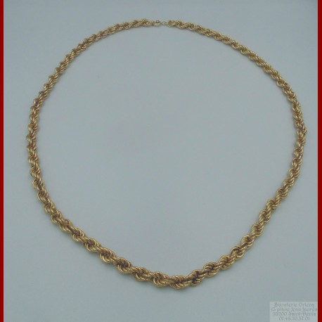 Collier Maille Or 18 Carats