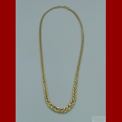 Collier Maille Anglaise Or 18 Carats