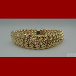 Bracelet Maille USA Or 18 Carats