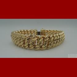 Bracelet Maille USA Or 18 Carats