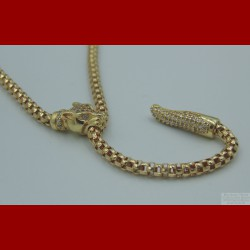 Collier Panthère Or 18 Carats