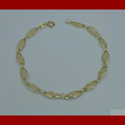 Bracelet Filigrane Or 18 Carats