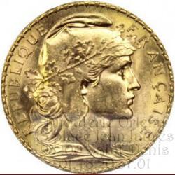 20 Francs Marianne 22 Carats