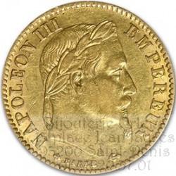 10 Francs Napoléon 22 Carats