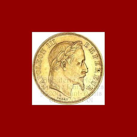 Pièce Napoléon 50 francs