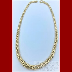 Collier Palmier Chute Or 18 Carats