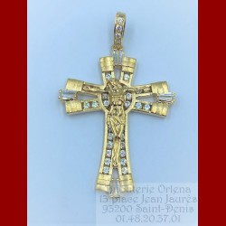 Pendentif Jesus Christ Or 18 Carats