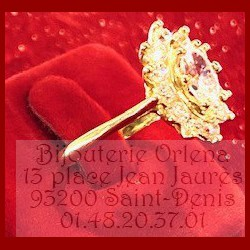 Bague Fleur Or 18 Carats